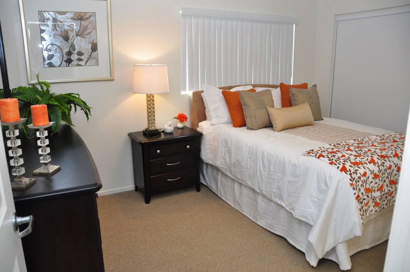 The Magnolia 9th Senior Apartments Interior Bedroom