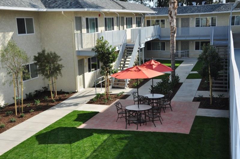 The Magnolia 9th Senior Apartments Exterior View