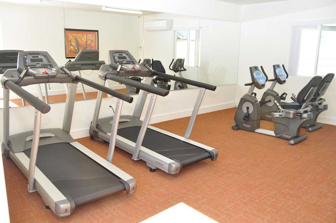 The Magnolia 9th Senior Apartments Gym Facility