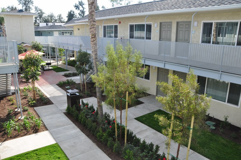 The Magnolia 9th Senior Apartments Exterior View1